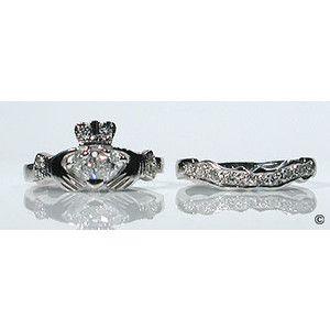claddagh wedding rings Dream Wedding Pinterest Claddagh