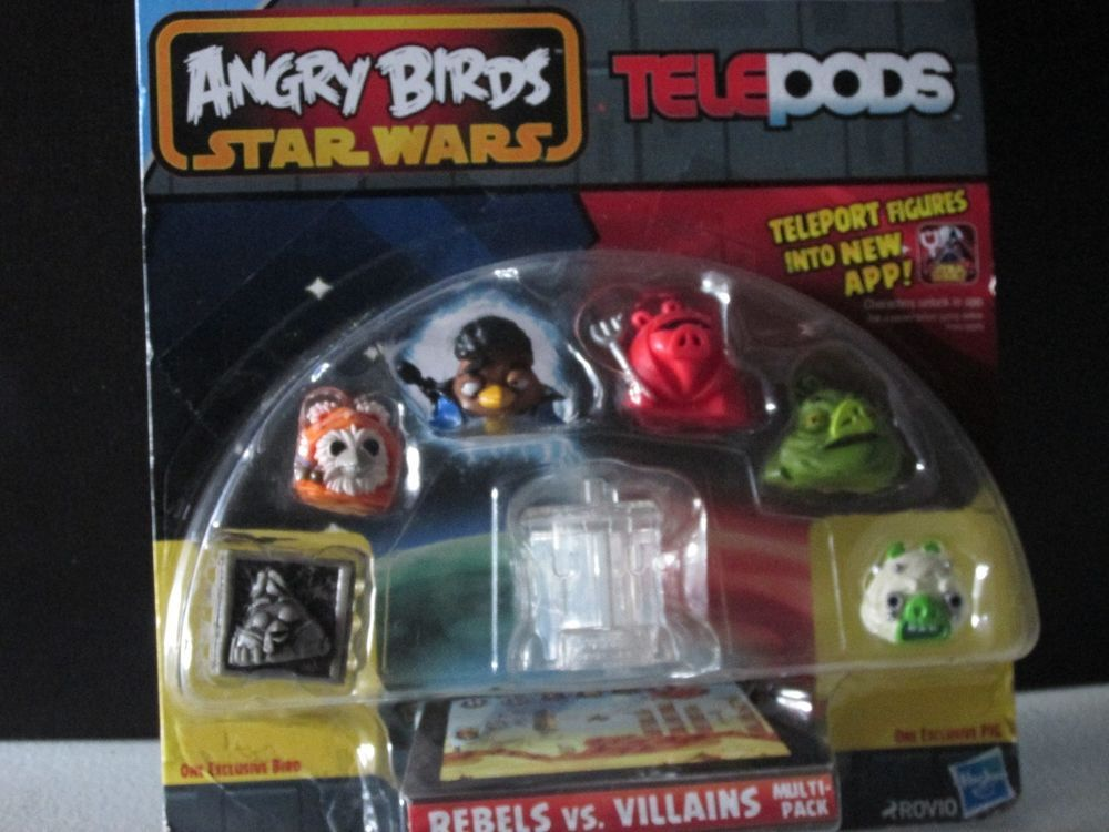Angry Birds Star Wars Telepods Rebels Villains Tusken Jabba H Solo