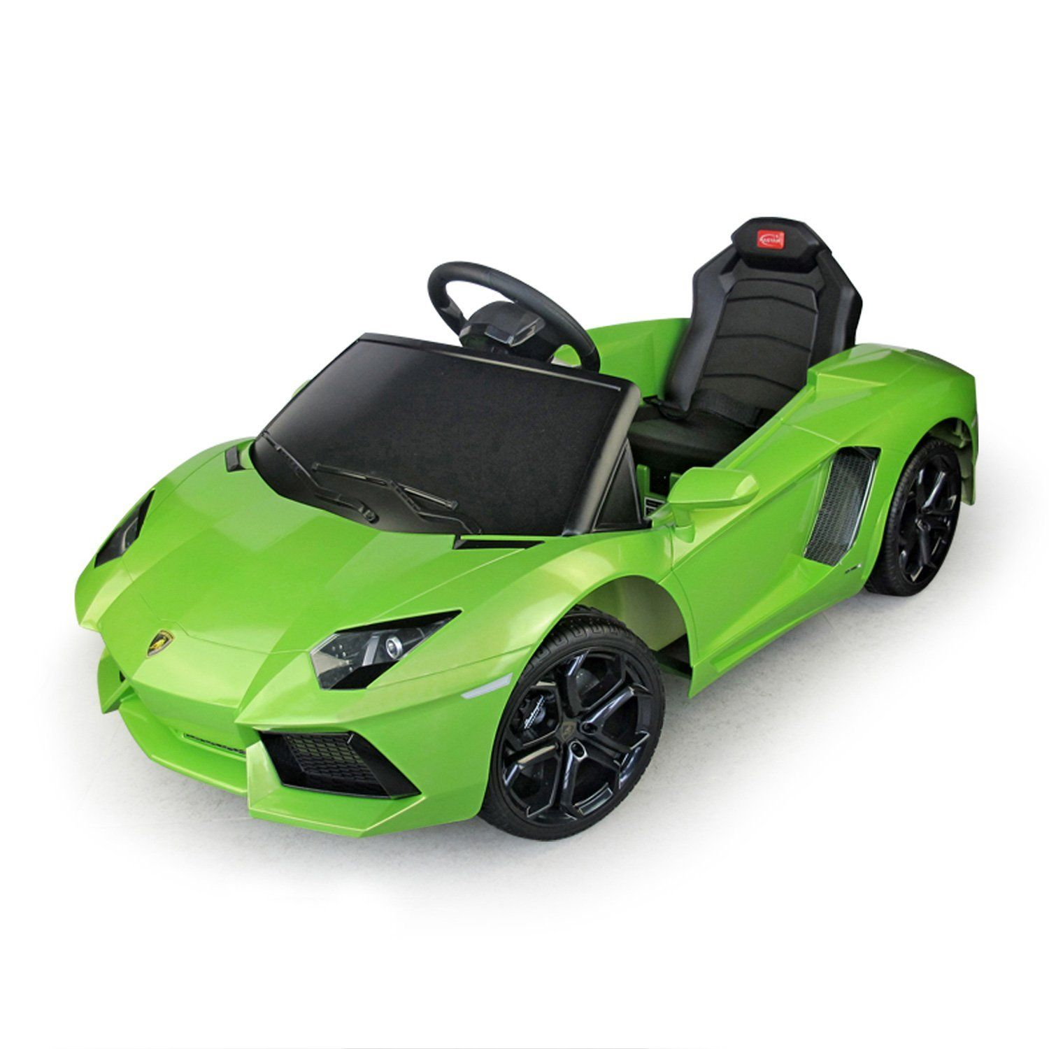 Lamborghini Aventador Kids 6v Electric Ride Toy Car w Parent