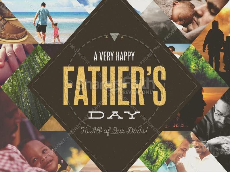 Happy Father's Day All Dads Christian PowerPoint | Media ...
