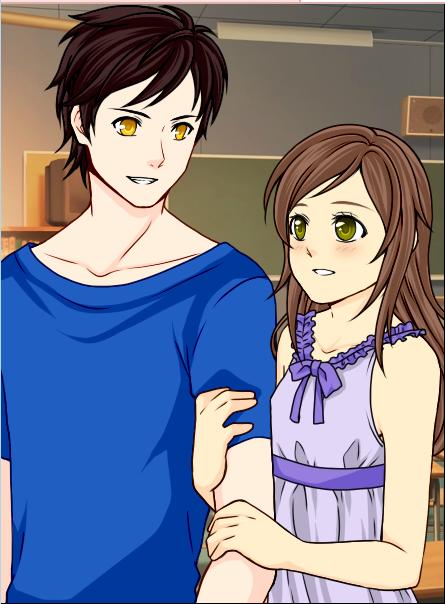 Rosella and Alexander the Vampire in Vampire Romance