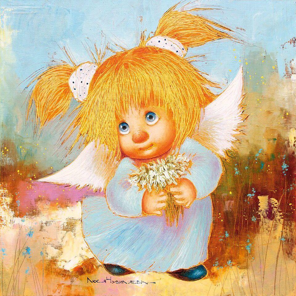 Картинки веселые ангелочки, поздравления рождеством