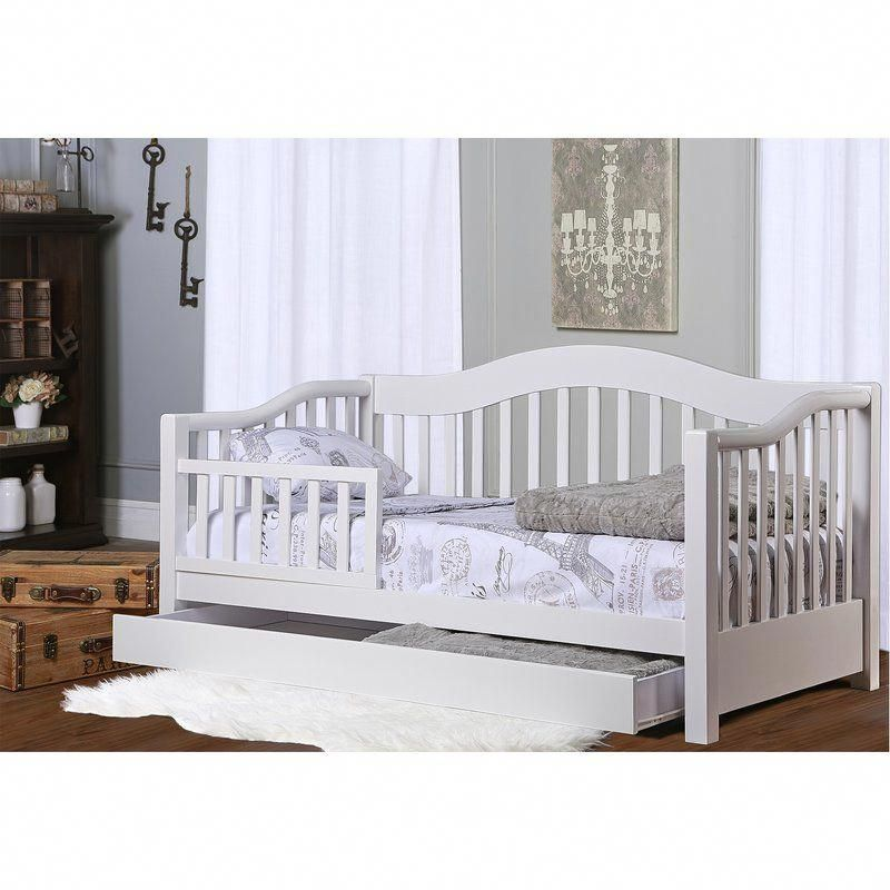 Clarkson Convertible Toddler Bed With Storage