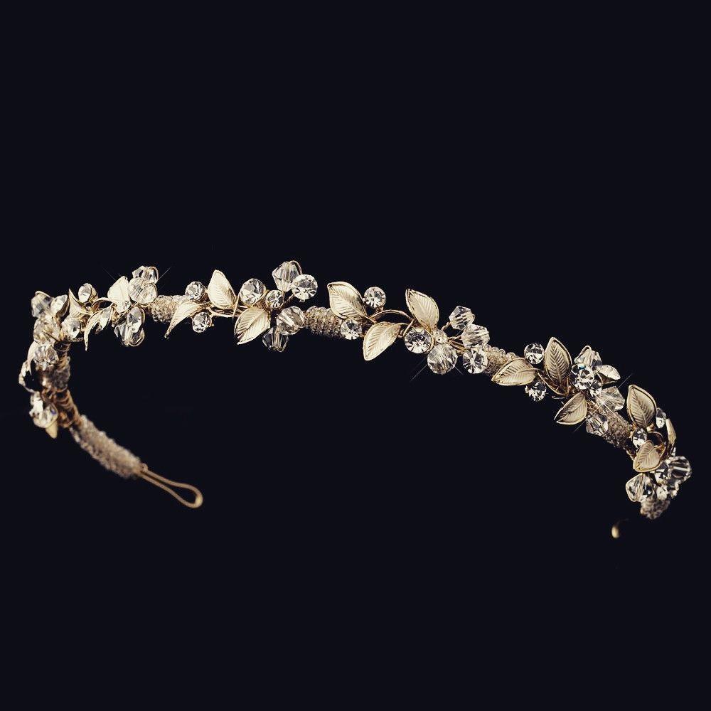 The Deanne Floral Swarovski Headband