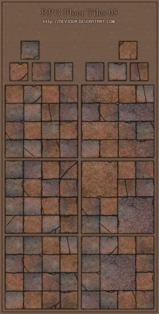 Rpg floor tiles 05 by neyjour dungeon tiles dungeon maps map icons floor