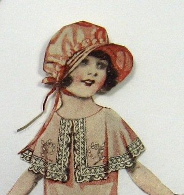 Vintage Flapper Girl  Paper Dolls by munnypenney on Etsy, $5.00