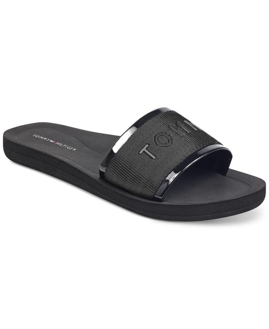 c2386629 Tommy Hilfiger Women's Mery Slide Sandals   Admire Attire in 2019 ...