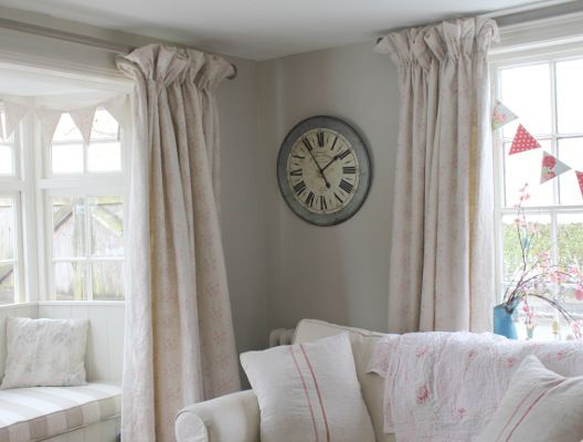 cottage style furniture living room with window seat   Happy Customer using our Antique Powder Pink Mini Roses ...