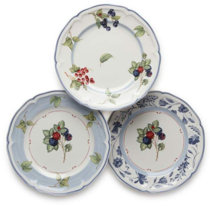 Villeroy Amp Boch Cottage Inn Assorted Salad Plates In 2019