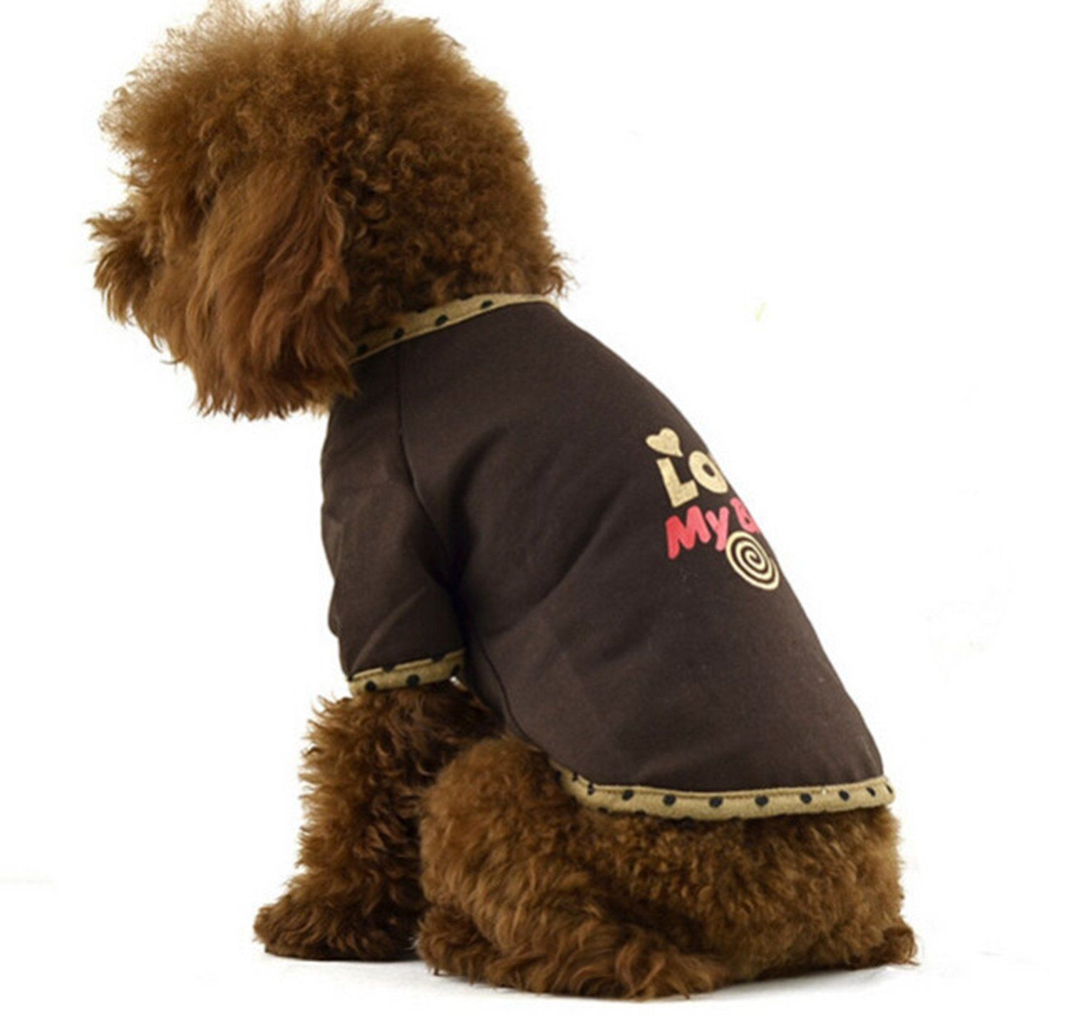 Dofull Fashion leisure dog clothes summer printing(DCN13) ^^ If you love this, read review now : Dog Cold Weather Coats