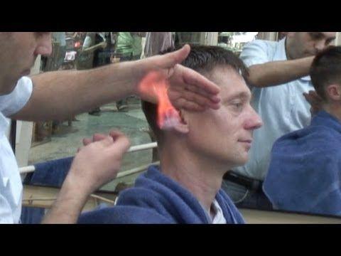 Blonde turkish massage