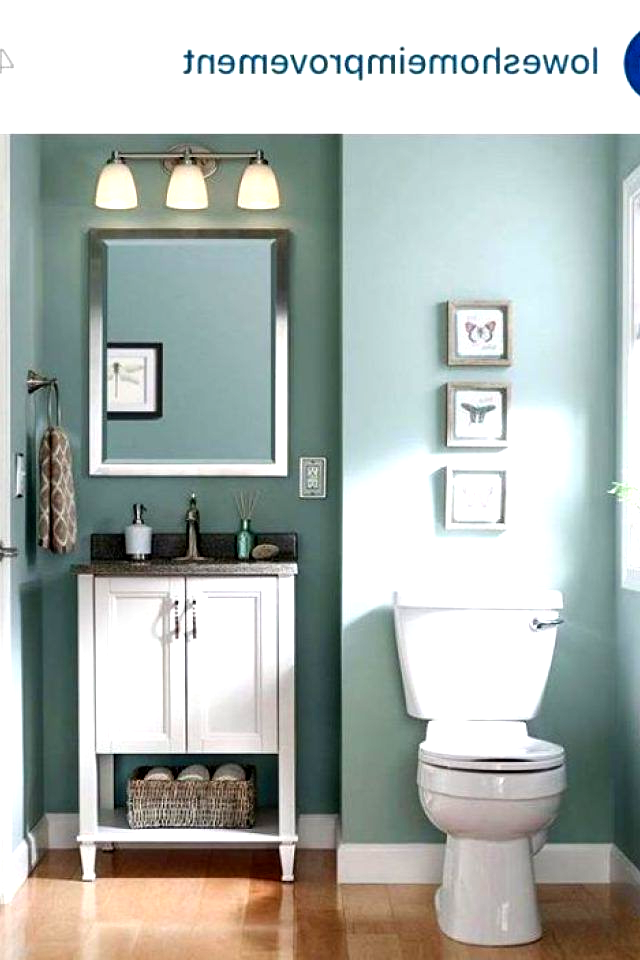 5 Bathroom Color Ideas Sherwin Williams Worn Turquoise Nice Color For A Guest Bathroom Bat In 2020 Small Bathroom Paint Bathroom Paint Colors Bathroom Design Small