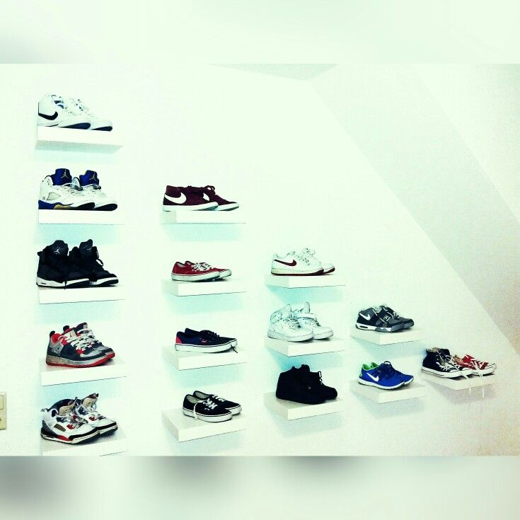 Sneakers wall