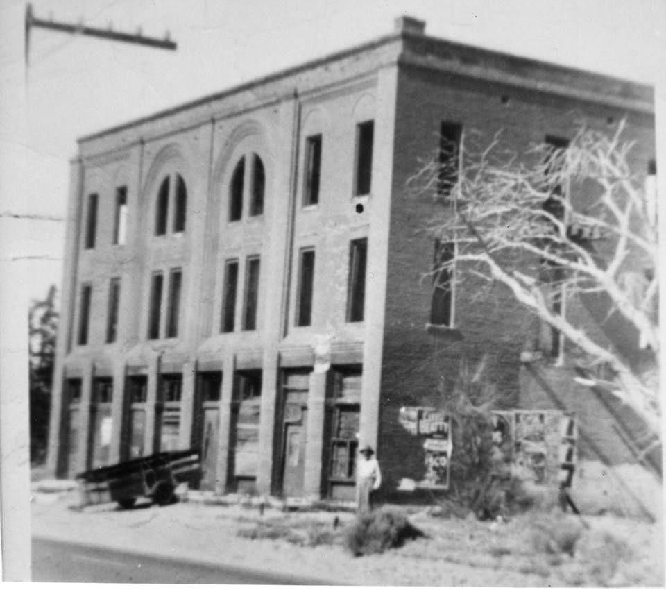 Hesperia Hotel building circa 1950  Thanks Griz Drylie | HD