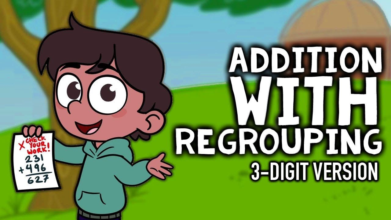 Addition With Regrouping Song 3 Digit Addition 3rd 4th Grade Math Songs Addition Math Centers Math Videos Digit addition with regrouping song