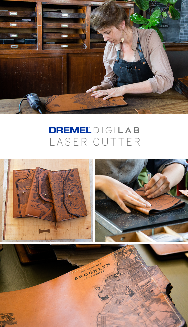 Do as the pro crafters do and use the Dremel Laser Cutter to