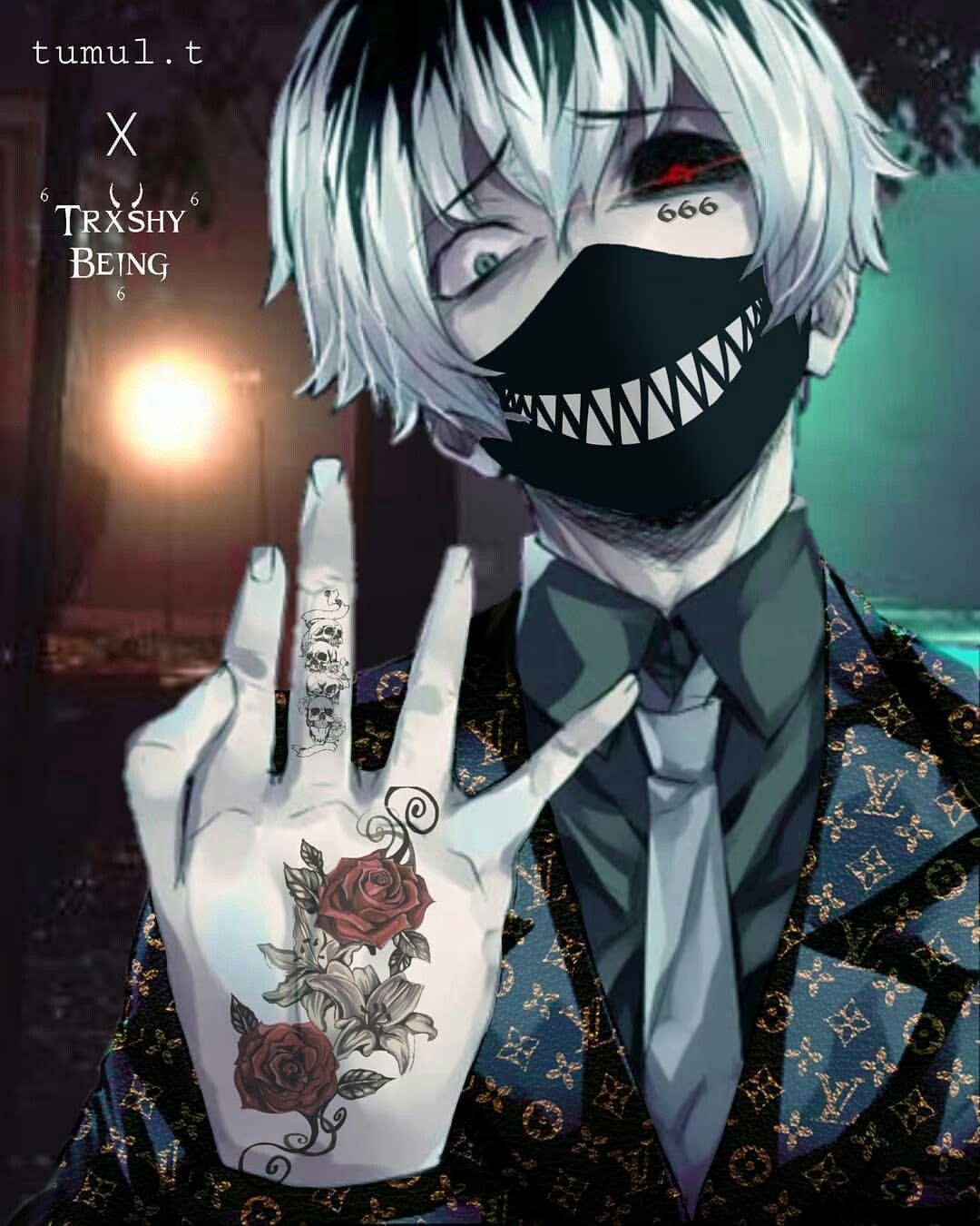 Trueslav Anime Gangster Tokyo Ghoul Wallpapers Dark Anime