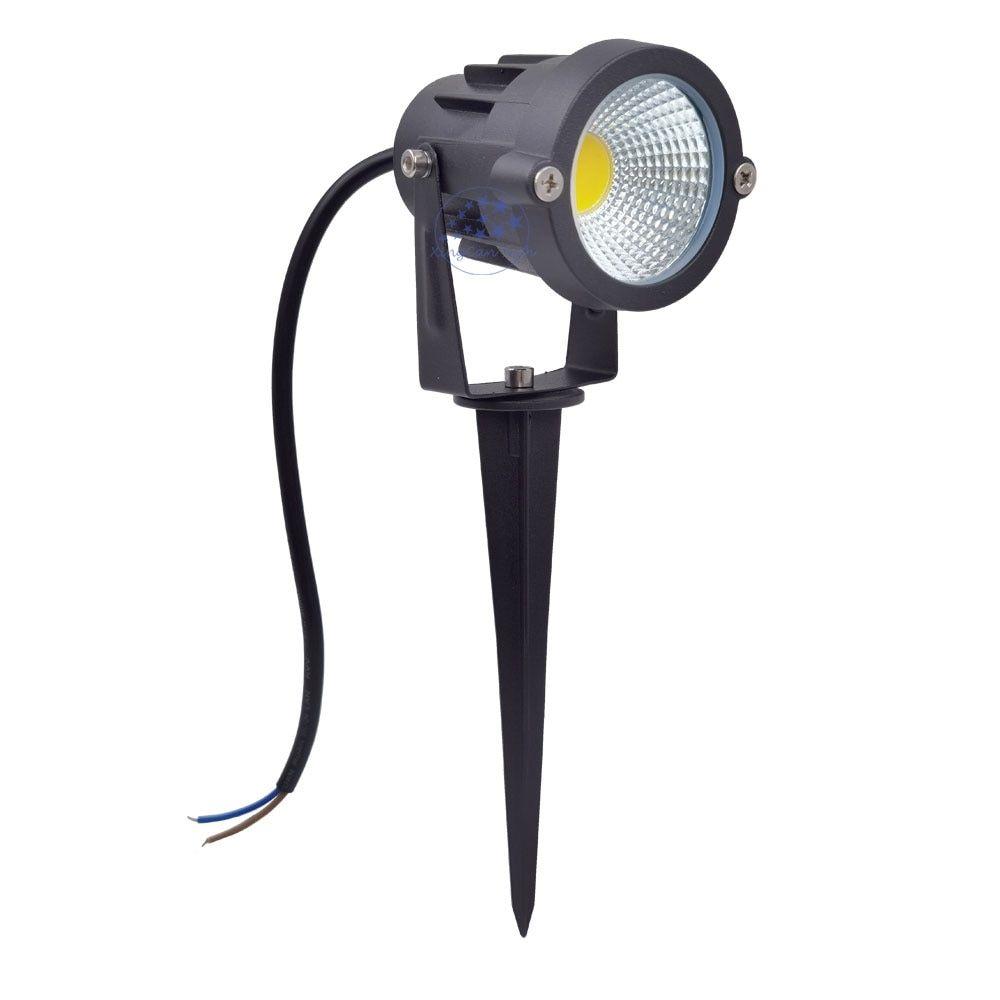 Espain Stock 6pcs 220v Garden Light Waterproof Led Spike Lights 10w Led Lawn Light For Home Yar In 2020 Lawn Lights Waterproof Led Garden Lighting