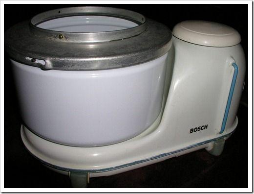 Bosch Kitchen Mixer Granite Slab For Vintage 1950's Universal Model 1   Nice ...