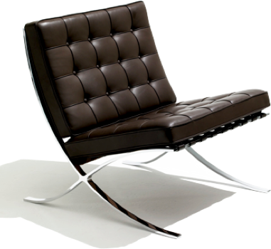 Barcelona chair - L. MIES VAN DER ROHE