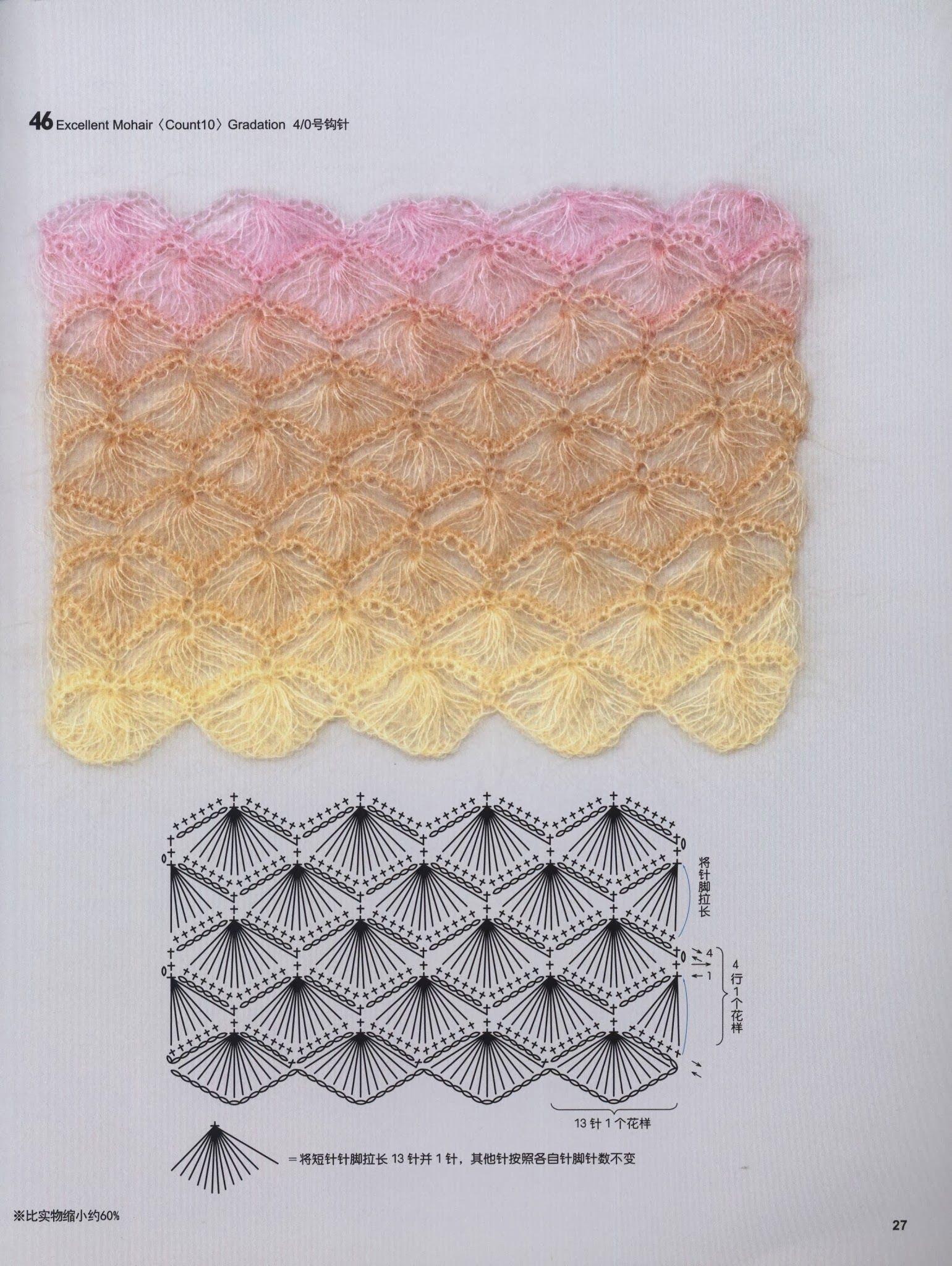 Pattern & Tutorial: Broomstick Crochet http://www.domihobby.ru/1035 ...