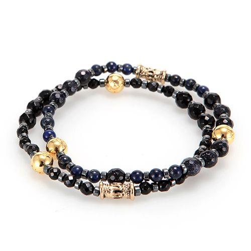 RS Oriental Deep Blue Classic  #mensfashion#jewelry#bracelet#naturalgemstone#fashion#style#ootd#daily