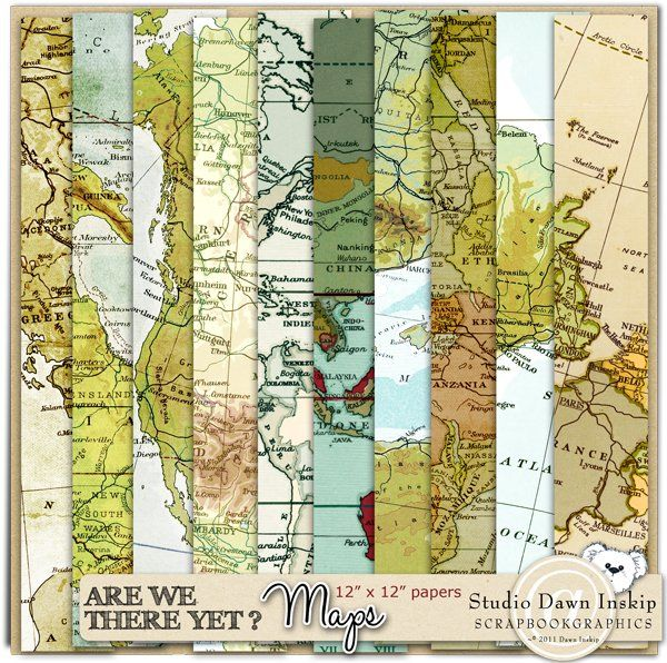 Are We There Yet Maps By Dawn
