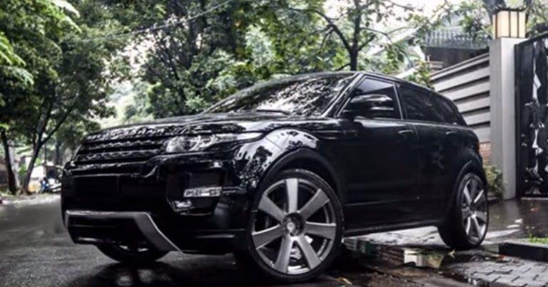 Modifikasi Mobil Range Rover Evoque Selalu Hadir Dengan Desain