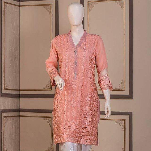 Peach Organza Fabric : Organza Price : 3800  Sizes : (SM) Details : Apricot resham & crochit embroidery style work on shirt front  daman & sleeves cuff with pleated styled button Patti attached with stitched fancy button. Pleated collar Slip included For order & details msg on whtspp 0092344-3062749 #lahorefashiontrends #designer  #karachites  #ukboutique #uk #usa  #promotpakistanfashion  #dubai #kuwait #bahrain  #pakistanstreetstyle  #Pakistanfashion  #instafashion  #instagram  #ukboutique  #abudhabi  #karachiuniversity  #fashionmag #designercollection  #londoneye  #londonfashionweek  #birminghamfashion #casualwear #shalwarkameez #indain #asian #londonpaki #pakidresses #muslimgirlfashion #desistyle #desilook