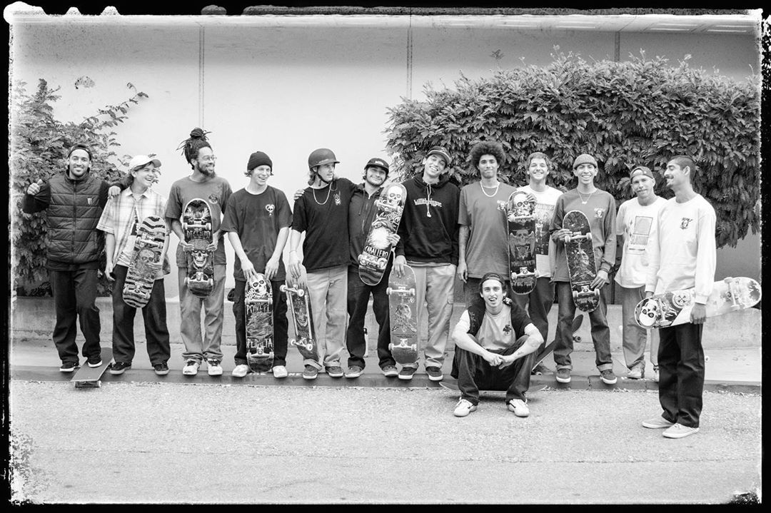 Powell Peralta Squad In The Streets Classic Skateboard Powell Peralta Skateboard Companies
