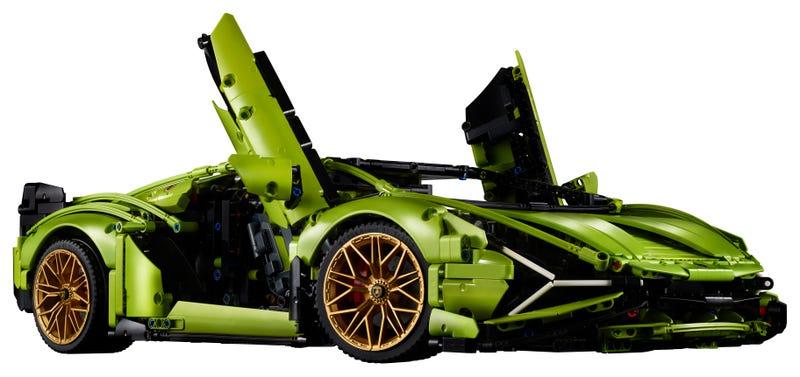 Lamborghini Sián Fkp 37 42115 Technic Buy Online At The Official Lego Shop Us Lego Technic Lego Cars Lamborghini