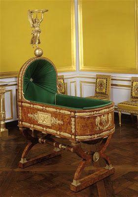 arts d coratifs premier empire berceau du roi de rome provenant du palais des tuileries 1811. Black Bedroom Furniture Sets. Home Design Ideas