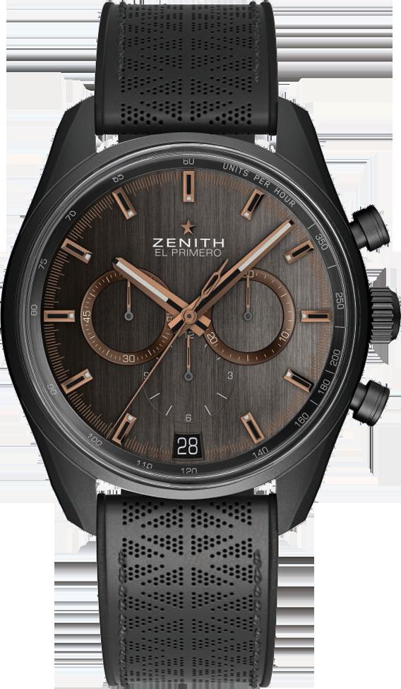 758badac9db La Cote des Montres   La montre Zenith Chronomaster El Primero Range Rover  Velar Special Edition