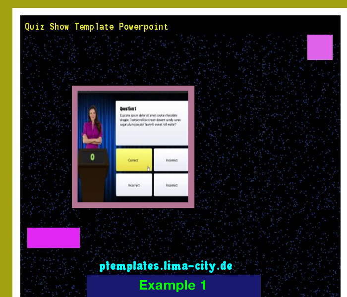 Quiz show template powerpoint powerpoint templates 134824 the quiz show template powerpoint powerpoint templates 134824 the best image search toneelgroepblik Gallery