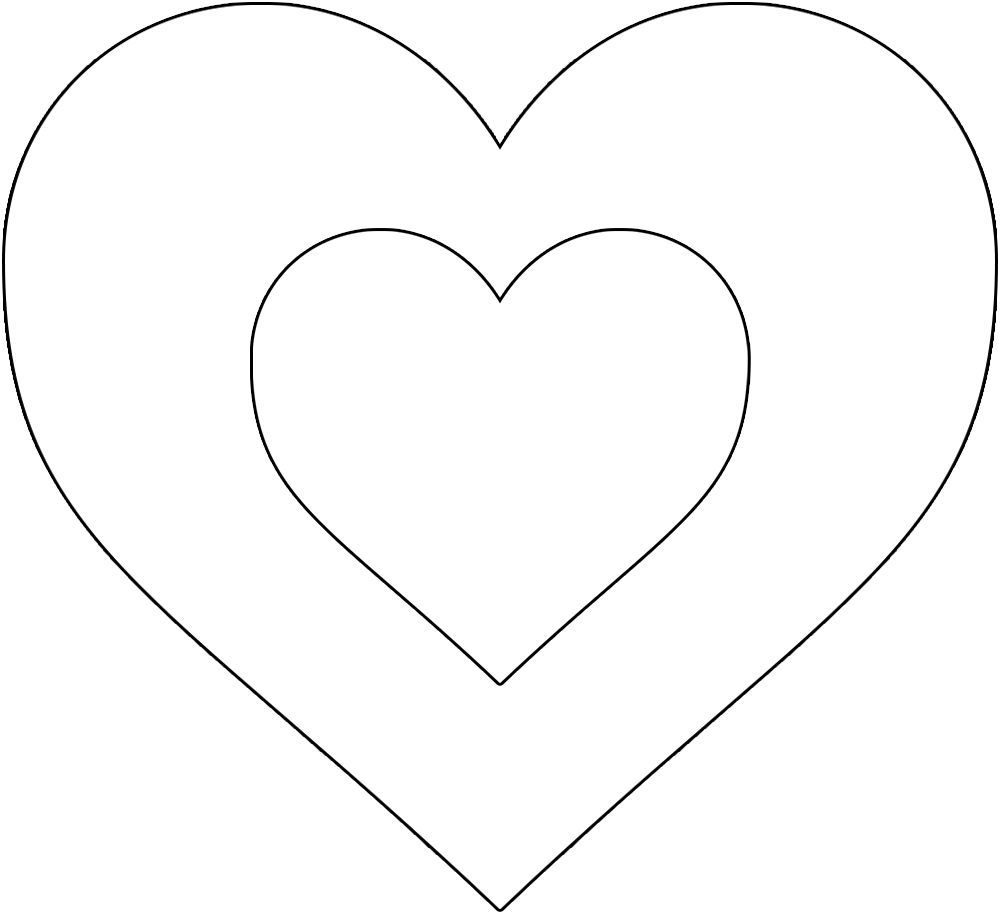 Best 12 Free Printable Heart Template