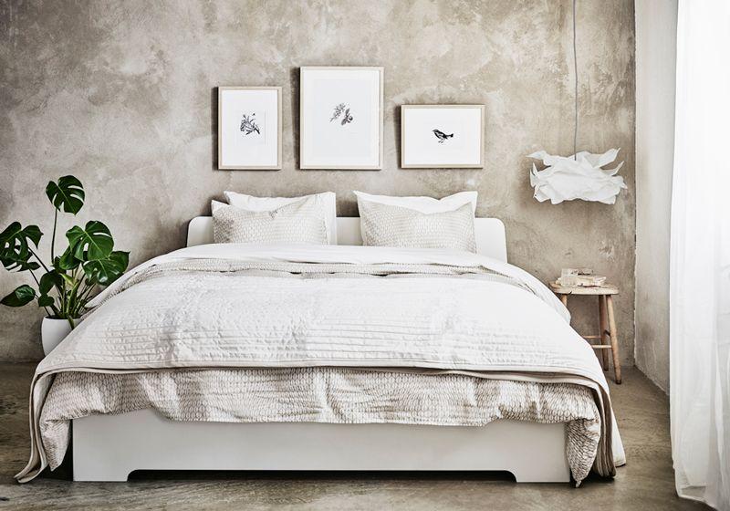 Inspiration des couleurs apaisantes pour la chambre à coucher