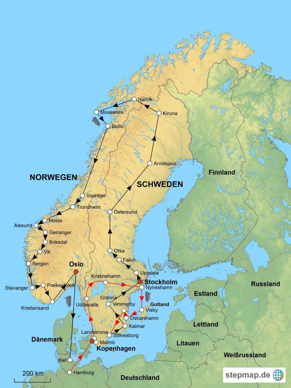Schweden Und Norwegen Mit Dem Wohnmobil Norwegen Wohnmobil Schweden Norwegen