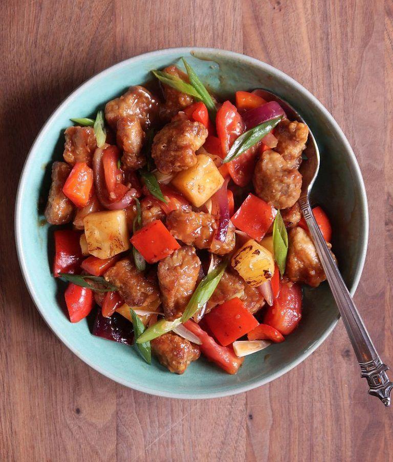 AirFried Sweet and Sour Pork Recipe Viet World Kitchen