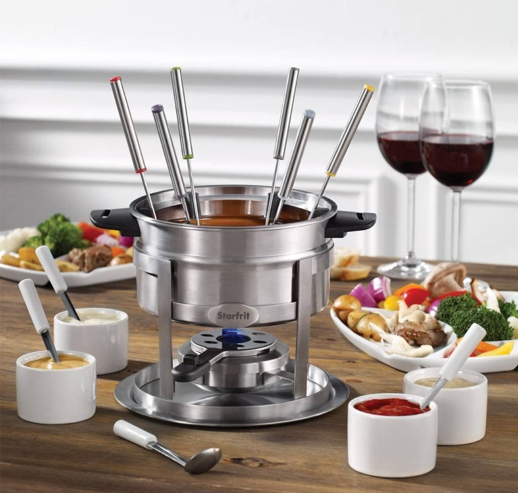 Starfrit 20Piece Fondue Party Set  Includes: 1.7 qt Fondue Pot Ceramic Bowl 4 Ramekins 6 Forks 4 Spoons And More >>> Check this awesome product by going to the link at the image-affiliate link. #cookwarefondue #fondueparty Starfrit 20Piece Fondue Party Set  Includes: 1.7 qt Fondue Pot Ceramic Bowl 4 Ramekins 6 Forks 4 Spoons And More >>> Check this awesome product by going to the link at the image-affiliate link. #cookwarefondue #fondueparty Starfrit 20Piece Fondue Party Set  Includes: 1.7 qt Fo #fondueparty