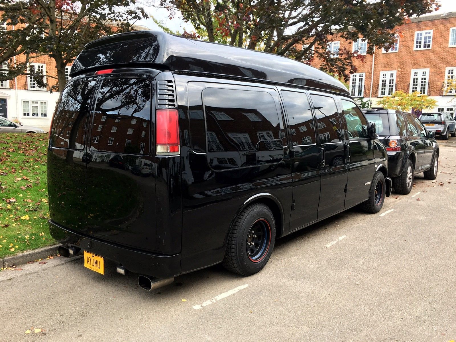 2002 chevrolet express 5 8l american show car day van surfer luxury modified