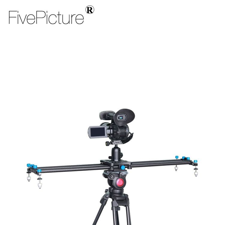 "Support for 11lbs/5kg 32""/80cm Carbon Fiber DSLR Camera DV Slider Track Video Stabilizer Rail Track Slider For DSLR/Camcorder"