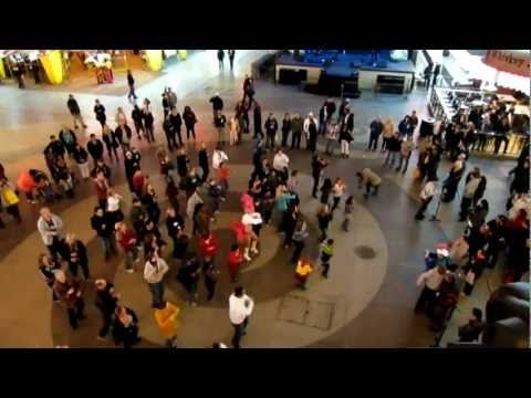 When A Flash Mob Breaks Out There Is Often An Engagement That