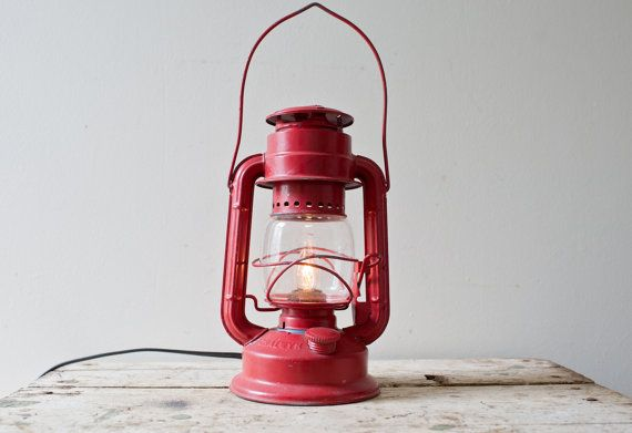 Chalwyn England Kerosene Lantern Converted By Whiskyginger On Etsy 55 00 Lantern Lights Vintage Lanterns How To Make Lanterns