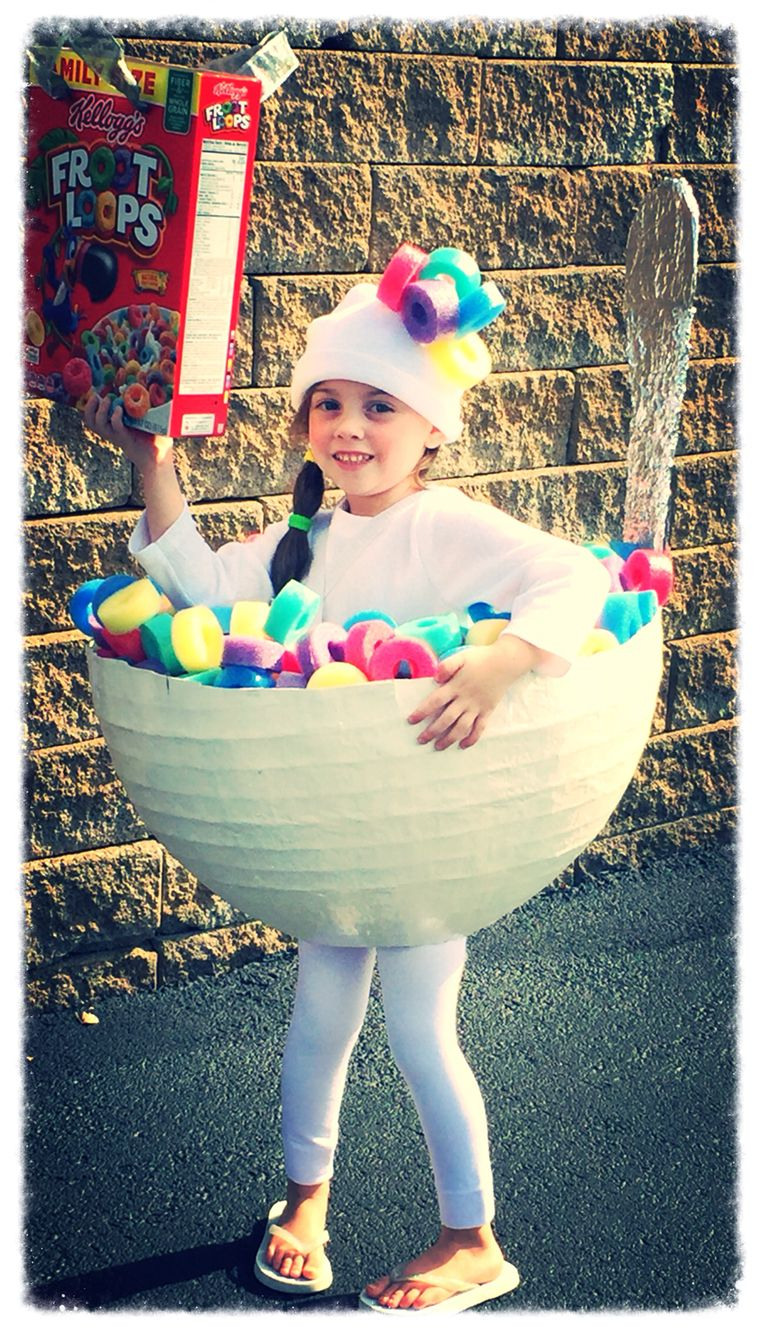 DIY Froot Loops Costume Diy halloween costumes for kids