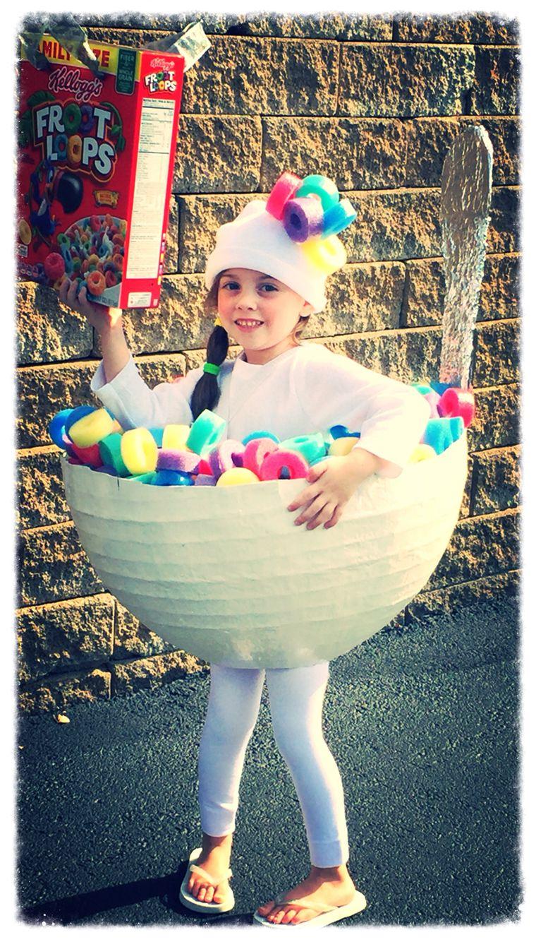 DIY Froot Loops Costume Diy halloween costumes for kids