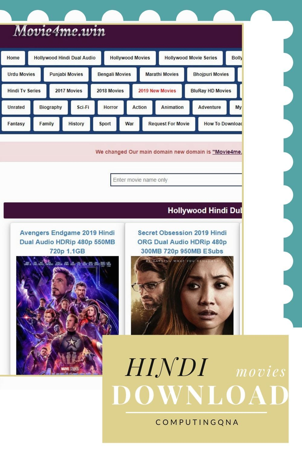 Download latest hollywood bollywood movies in hindi