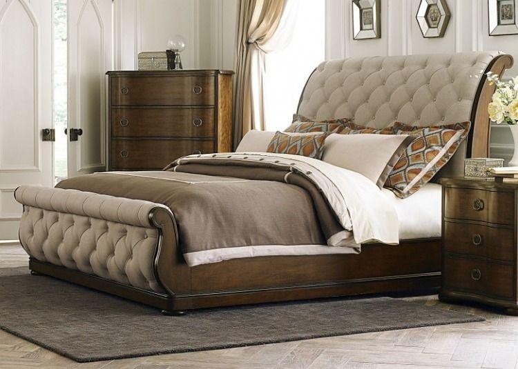 Cotswold King Upholstered Sleigh Bed In 2020 Liberty Furniture King Bedroom Sets Bedroom