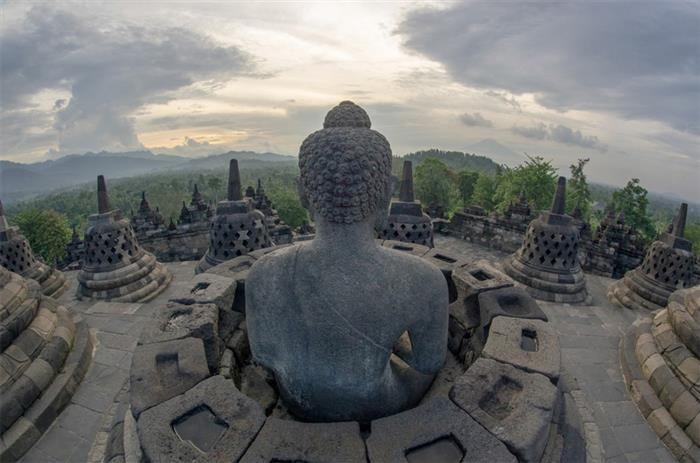 Temple of Borobudur, Magelang Regency, Indonesia