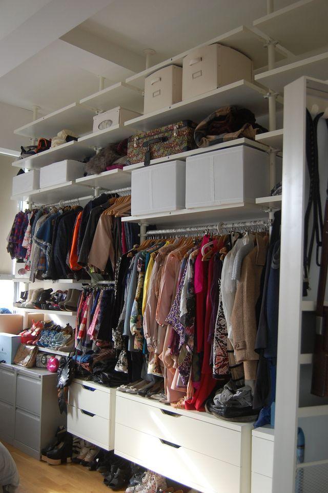 Begehbarer kleiderschrank ikea stolmen  closet organization - ikea stolmen wardrobe system | Products I Love ...