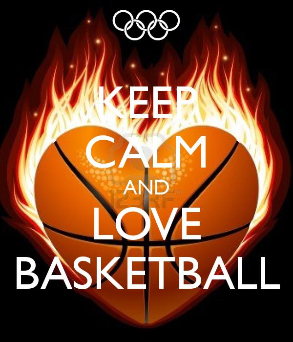 Keep Calm And Love Basketball Love And Basketball Basketball Quotes I Love Basketball